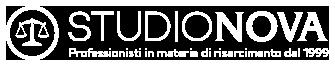 Specialisti nel Risarcimento Danno – Studio Nova Logo