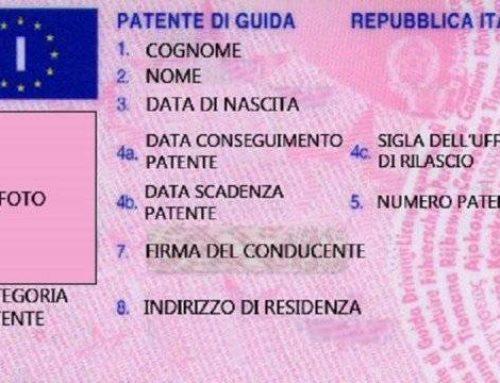 Scadenza Patente